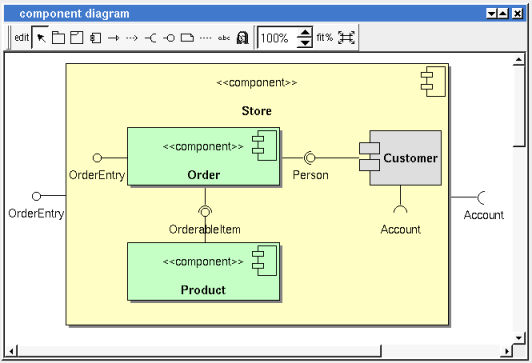 Componentdiagramdrawingg component diagram ccuart Image collections